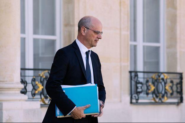Jean-Michel Blanquer, ministre de l'Education nationale, ici en septembre à l'Elysée.