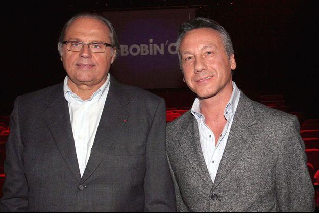 Gérard Louvin et son mari Daniel Moyne en 2006.