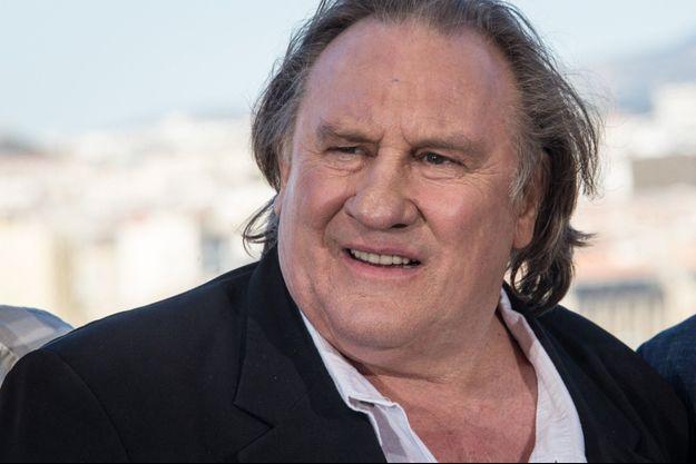 Gérard Depardieu en 2016.