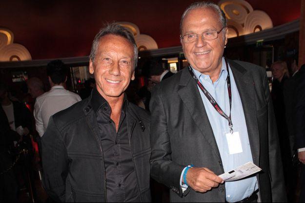 Daniel Moyne et Gérard Louvin en 2014.