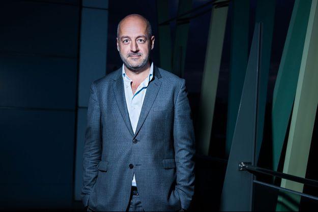 """Le président du directoire du journal """"Le Monde"""", Louis Dreyfus, ici en 2017."""