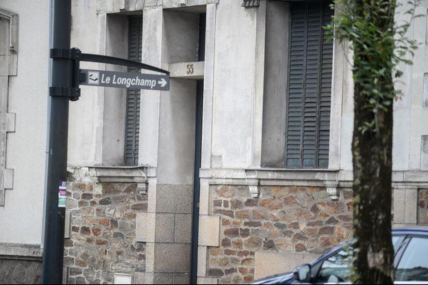 Le 55 boulevard Robert-Schumann, à Nantes.