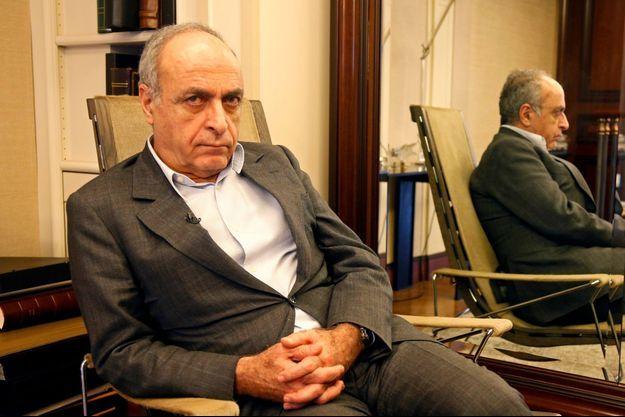 Ziad Takieddine, lors d'un entretien avec l'agence Reuters en avril 2013.
