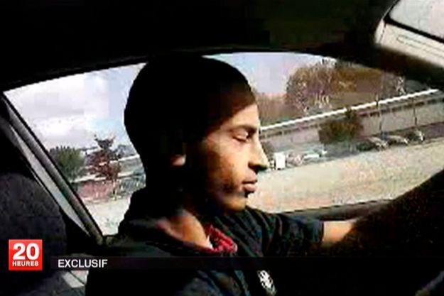"""Mohamed Merah, le """"tueur au scooter""""."""