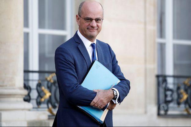 Jean-Michel Blanquer à l'Elysée en octobre dernier.