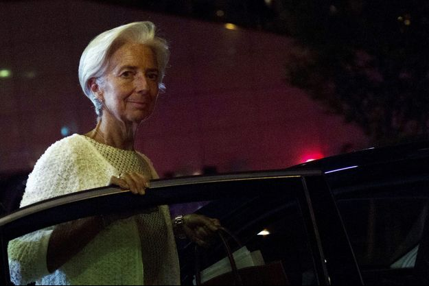 Christine Lagarde en juillet dernier.