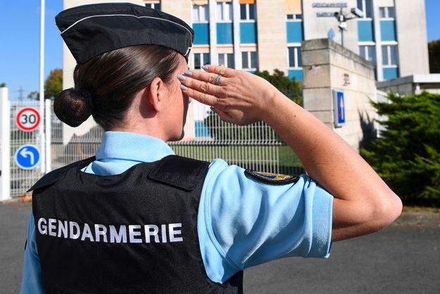 Une femme gendarme à La Rochelle, en 2017. (Photo d'illustration)