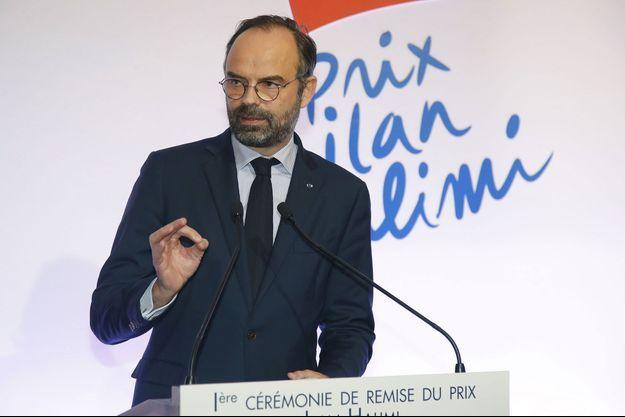 Edouard Philippe a décerné mardi soir un prix Ilan Halimi contre l'antisémitisme.