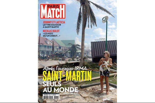 La couverture du numéro 3565 de Paris Match.