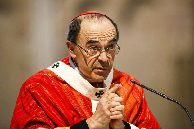 Le cardinal français Philippe Barbarin.