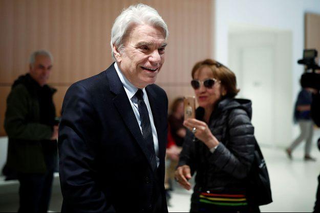Bernard Tapie au tribunal à Paris, le 1er avril.