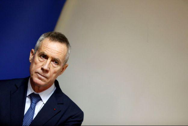 François Molins, ici en octobre 2016, a tenu une conférence de presse lundi au palais de justice.