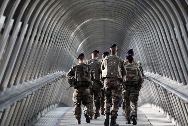 Soldats de l'opération Sentinelle (photo d'illustration)