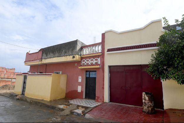 La maison où a transité Ahmed Hanachi, à Bizerte, en Tunisie.