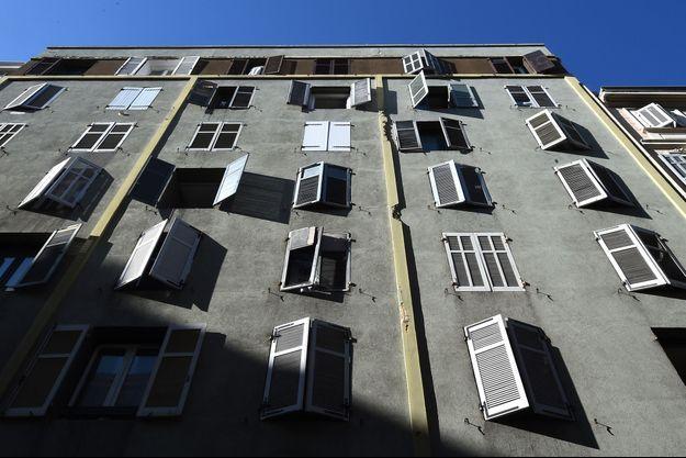 L'immeuble dans lequel Ahmed H. a passé la nuit de samedi à dimanche 29 au 30 septembre.