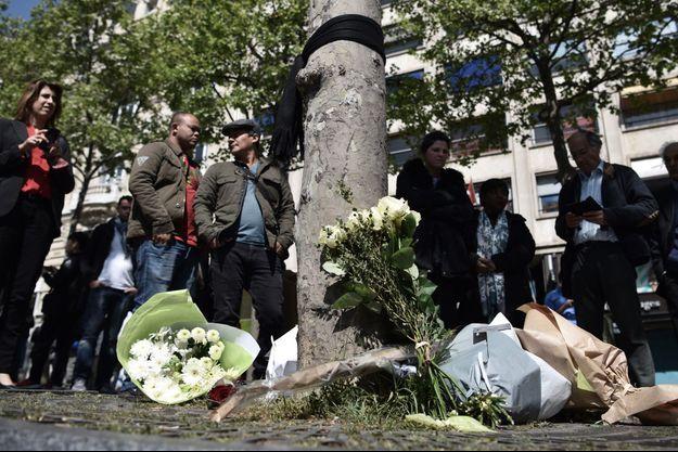 """Le syndicat Alternative-Police a appelé """"au dépôt symbolique d'une fleur sur le lieu de l'attentat"""""""