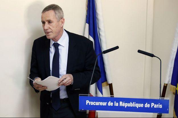 Le procureur de Paris François Molins mercredi.