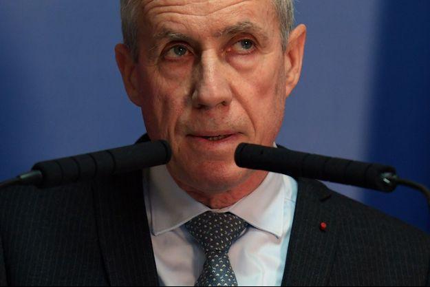 Le procureur de la République, François Molins, lors de sa conférence de presse.
