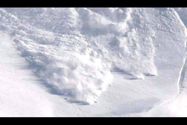 Avalanche en montagne (archives)