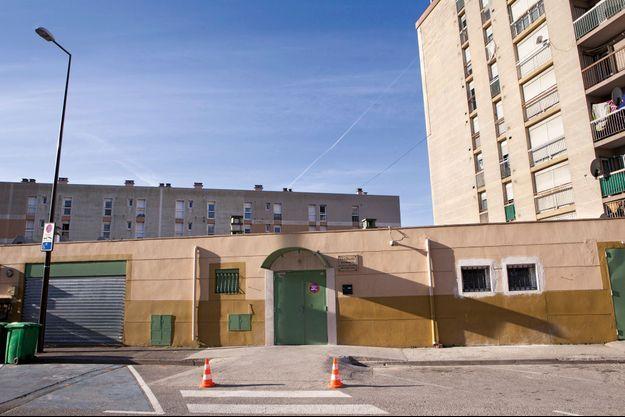 La mosquée Arrhama, dans le quartier Saint-Jean, le 26 mars. Les portes restent fermées aux journalistes.