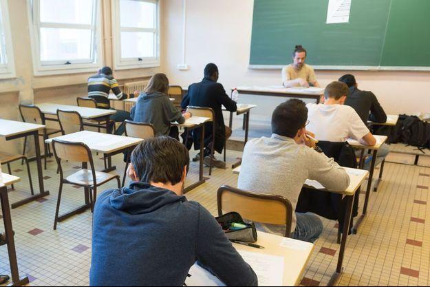 L'épreuve de philo le 17 juin au lycée François Villon à Paris.