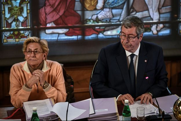 Isabelle et Patrick Balkany, à Levallois en mai 2019.