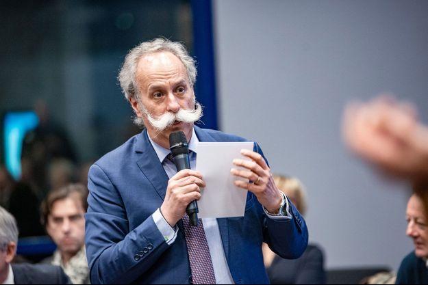 Bernard Stalter, président du réseau de Chambres de métiers et de l'artisanat français, ici en février 2019.
