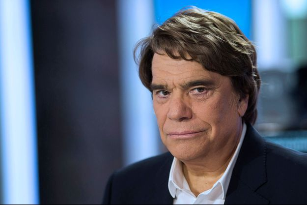 Bernard Tapie, lors de son passage sur la plateau du journal télévisé de France 2, en juillet dernier.