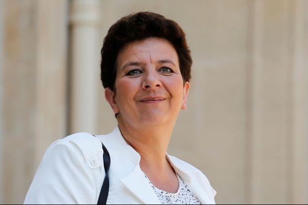 La ministre de l'Enseignement supérieur Frédérique Vidal au palais de l'Élysée, le 6 juillet 2018.