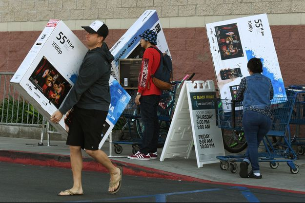 Black Friday aux Etats-Unis, le 25 novembre 2016