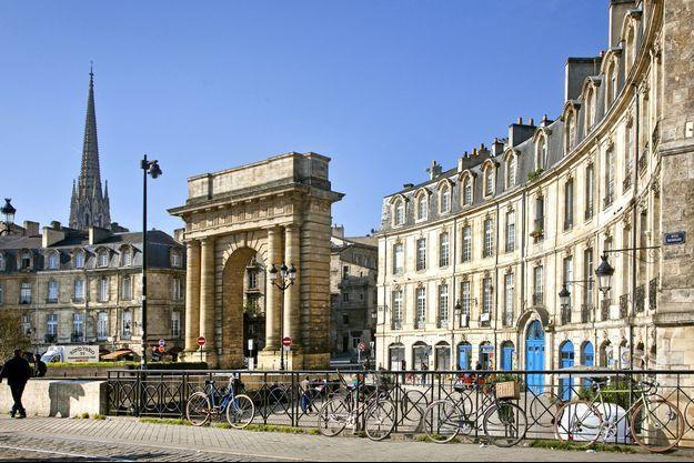 Les immeubles effondrés à Bordeaux se situent non loin de la porte de Bourgogne.