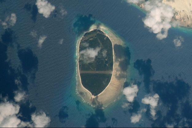L'ile d'Arros, dans l'Ocean Indien.