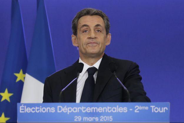 Nicolas Sarkozy, le 29 mars dernier.