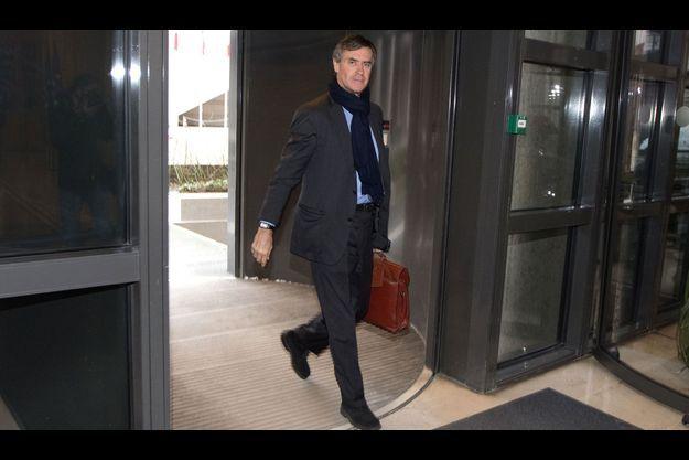 Jérôme Cahuzac au ministère des Finances, lundi.