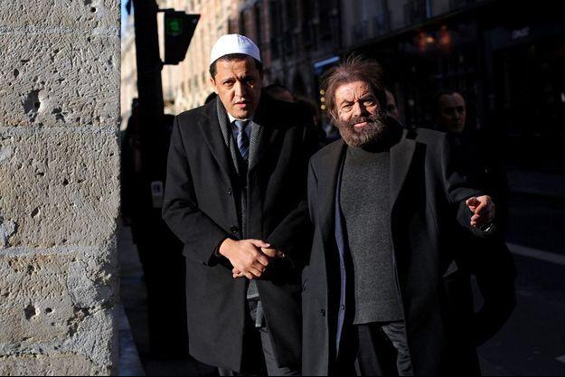 Hassen Chalghoumi et Marek Halter