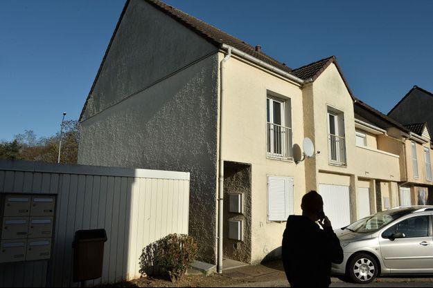 La maison supposée d'Ismaël Omar Mostefaï à Chartres avant qu'il ne parte en Syrie.