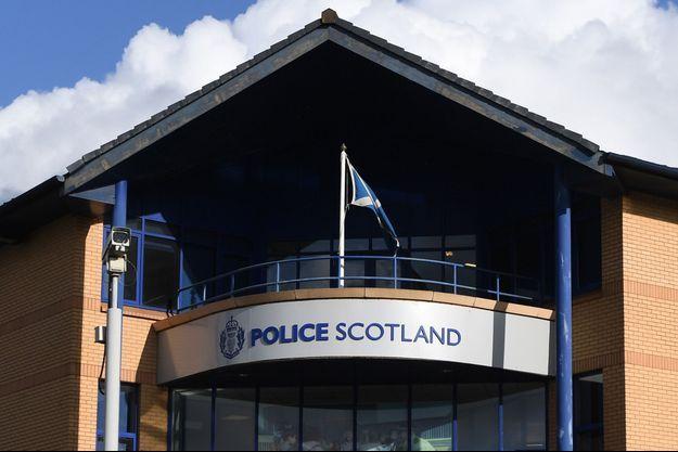 Commissariat de police à Glasgow.