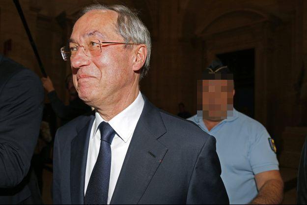 Claude Guéant au tribunal le 28 septembre.