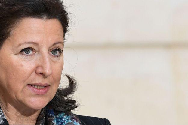 Agnès Buzyn, fin janvier à l'Elysée.