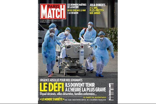 La couverture du numéro 3700 de Paris Match