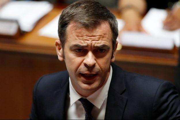 Olivier Véran à l'Assemblée nationale le 8 juillet.