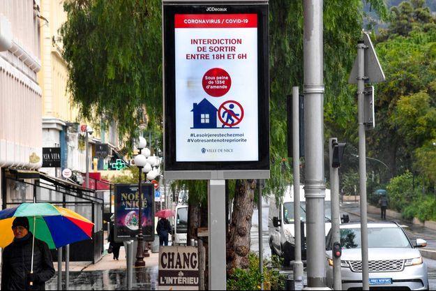Le couvre-feu à 18 heures est déjà en vigueur à Nice (image d'illustration).