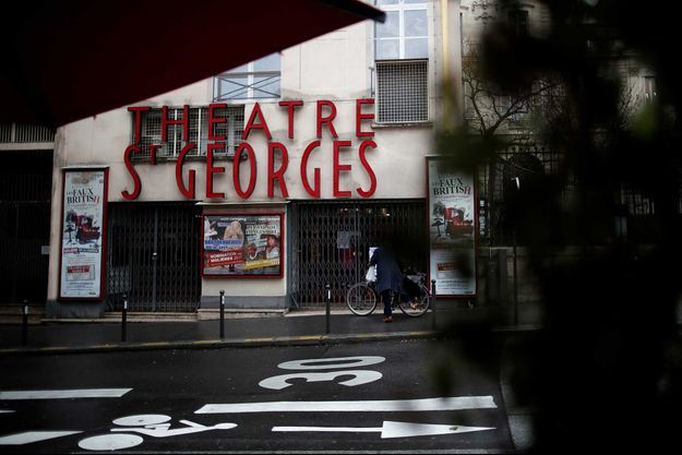 Le théâtre St Georges à Paris.