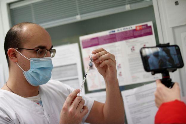 Le vaccin Pfizer-BioNTech.