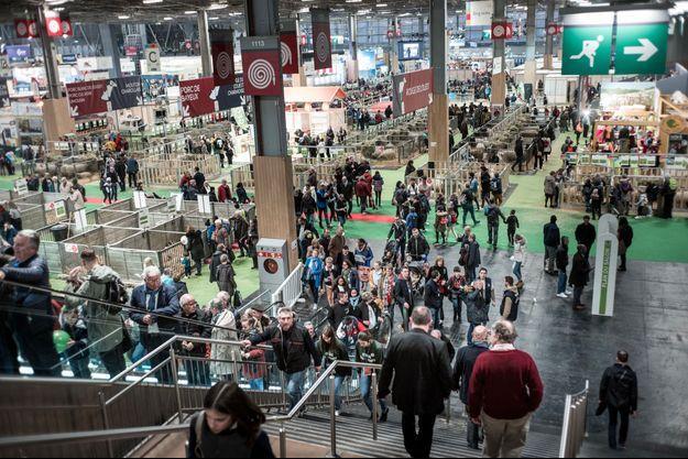 Au Salon de l'Agriculture 2020, le 26 février dernier, quelques semaines avant le début du confinement en France.