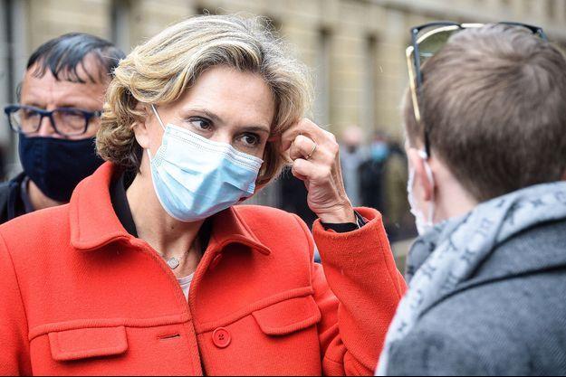 Valérie Pécresse à Paris le 19 mai 2021