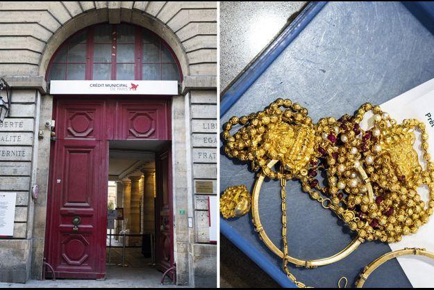 La plus ancienne institution financière parisienne s'installe au 55 rue des Francs-Bourgeois en 1777. La Ville de Paris en est l'unique actionnaire. Du lundi au samedi, les clients font estimer leurs objets, neuf fois sur dix un bijou. La moitié de leur valeur peut leur être prêtée immédiatement.