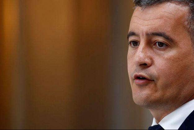 Le ministre de l'Intérieur Gérald Darmanin, le 28 avril 2021.