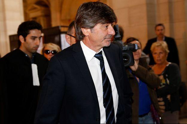 Michel Neyret, le 9 mai, au palais de justice de Paris.