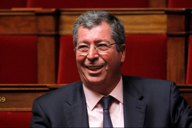 Patrick Balkany à l'Assemblée nationale en 2010.